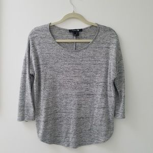 Forever 21 grey long sleeve top